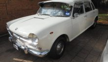 classic British Car inspection